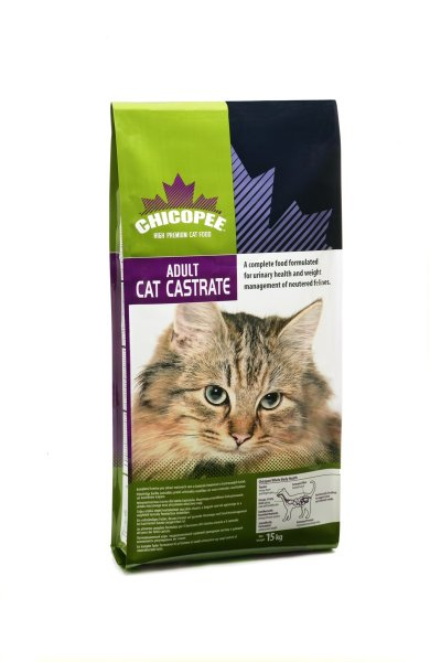 Chicopee Adult Cat Castrate 15kg